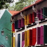 Colourful houses by Sweetybee