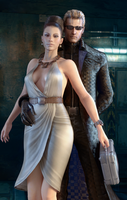 Excella+Wesker 2 by 3SMJILL