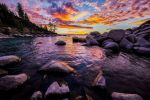 Late Summer Evening at Lake Tahoe by sellsworth