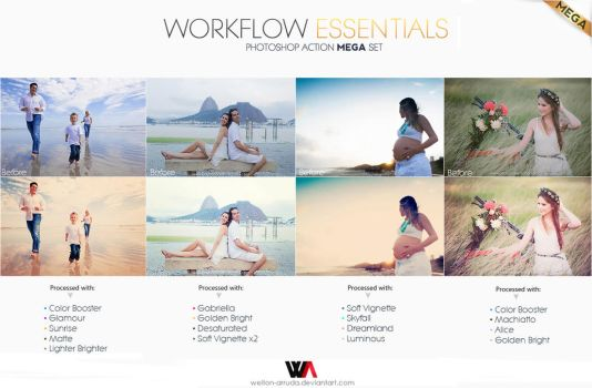 Workflow Essentials Action MEGA Set by Welton-Arruda