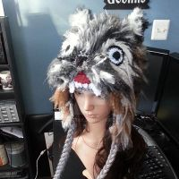 Crochet Wolf Beanie by AAMurray