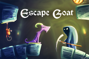 Escape Goat - Staring contest by theonlyupriser