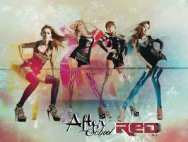 After School Red by victoria03