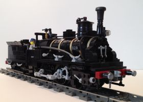 French 2-4-0 Steam Locomotive by LNERA4