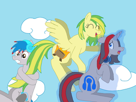 Only pegasi are meant to fly by hawkon101