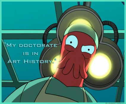 Zoidberg Doctorate Joke by TheShyShaman
