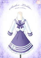 Sailor Lolita Winter Dress by Neko-Vi