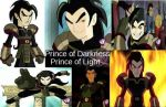 Heylin Prince of Darkness Xiaolin Prince of Light by TheNewFireDancer