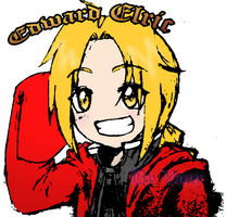 Ed Elric by VaneShadowDaisy