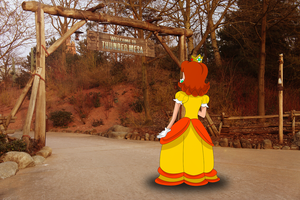Daisy in Frontierland by ZeFrenchM