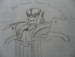 He's Gonna Punch You In the Face by CommanderStarscream