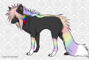 Sparkle dog auction CLOSED by Marz-Cat