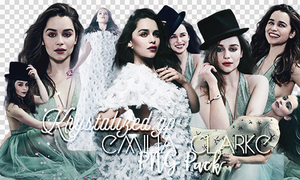 Emilia Clarke png pack by itskrystalized