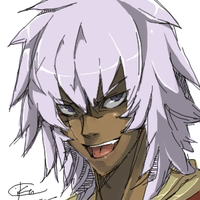 Bakura the King of Thieves by cika