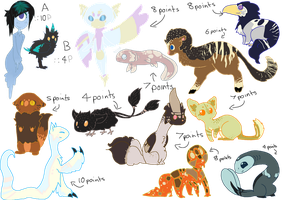 Cheap creature adopts BATCH 3 ||CUTE|| ::1 OPEN:: by shadowkitonline