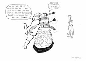 New Dalek Husband by BevisMusson