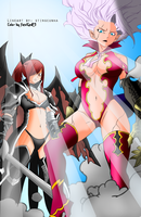 Monster Duo - Fairy Tail 364 by fatalgod23