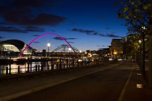 Newcastle by night 6 by paradoxofminds