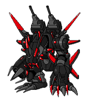 GigaMachinedramon (animated) by MOC-7