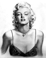 Marilyn Monroe by hectichush