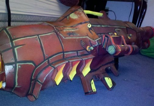 Borderlands 2 Cosplay Prop Gun for Lilith by FizCosplay