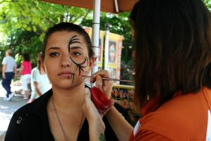 Face Painting Regular by BengalTiger4
