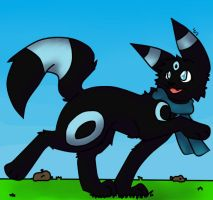 Request- Nightmare the Umbreon by Seiishin