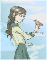 .Caged bird. by Danielle-chan