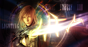 Lightning - Final Fantasy 13 by randomchaos606