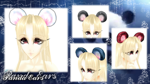[MMD] Panda Ears - DL by DeidaraChanHeart
