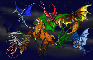 Savage Skies Group by Scatha-the-Worm