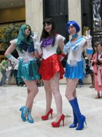 AWA 2010 Sailor Scouts by GIN180