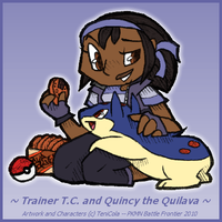 T.C. and Quincy -- Frontier ID by TeniCola