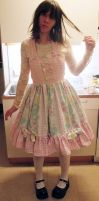 Ama/sweet lolita dress by Fairytale-Hime