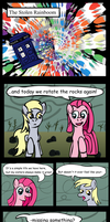 The Stolen Rainboom: Page 1 Pinkamena's Lament by FlashnFuse