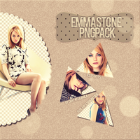 Emma Stone Png Pack by lightwoodamla