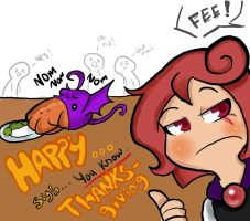 Ghoulette thanksgiving by remnant-imaginations