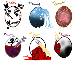[CLOSED] Suicide Eggs Auction by OkayIlie