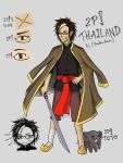 Hetalia APH : 2P! Thailand (OC) by youngthong-art