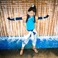 Korra cosplay - Ready for Book 2 by the-mirror-melts