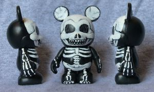 Skeleton Vinylmation by JMKohrs