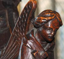 Angel in Wood by Clangston