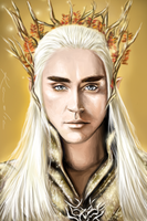 Thranduil - The Elvenking by badmelia