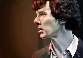 Is it nice not being me? - Sherlock by tillieke