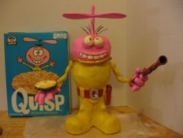 Quisp with Quisp cereal by Potatoheadmaster
