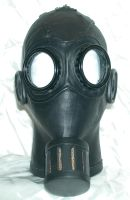 Steampunk Gasmask 2 front by GriffinLeather