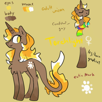 Torchlight Reference Sheet by NicoTheMintyRabbit
