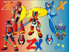 Ultimate Hero, Rockman ZX by MiloManX