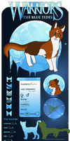 TBT Reference Application- Moonflame of Windclan by AzureDragonNeko