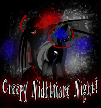 Creepy Nidhtmare Night! by FAoneLI